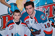 KELOWNA, CANADA - FEBRUARY 20:  Pepsi Player of the gam with Dillon Dube #19 of the Kelowna Rockets at the Kelowna Rockets game on February 20, 2018 at Prospera Place in Kelowna, British Columbia, Canada.  (Photo By Cindy Rogers/Nyasa Photography,  *** Local Caption ***
