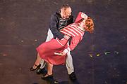 Matinee performance of Ruddigore performed by during the National Gilbert & Sullivan Opera Company in Buxton Opera House Buxton, England on Sunday 05 August 2018 Photo: Jane Stokes<br /> <br /> DIRECTOR/Vivian Coates<br /> CONDUCTOR/James Hendry<br /> CHOREOGRAPHER/Mary McDonagh<br /> <br /> CAST<br /> SIR RUTHVEN MURGATROYD (Robin Oakapple)/Bradley Travis<br /> RICHARD DAUNTLESS/David Menezes<br /> SIR DESPARD MURGATROYD/Matthew Siveter<br /> OLD ADAM GOODHEART/Stephen Godward<br /> ROSE MAYBUD/Rosanna Harris<br /> MAD MARGARET/Mae Hendorn<br /> DAME HANNAH/Gaynor Keeble<br /> ZORAH/Juliet Montgomery<br /> RUTH/Alexandra Hazard<br /> SIR RODERIC MURGATROYD/Steven Page<br /> <br /> THE CHORUS<br /> Hannah Boxall, Nicole Boardman, Rhiannon Doogan, Joanna Goldspink, Maisy Hepburn, Jennifer Parker, Julie Power, Stephanie Poropat, Eloise Waterhouse, Emma Watkinson<br /> <br /> Tom Blackwell, Andrew Brown, Peter Brooks, Stephen Fawell, Matthew Kellett, Michael Vincent Jones, Henry Smith, Jonathan Stevens, Tim Southgate<br /> <br /> PRODUCTION TEAM<br /> <br /> TOUR MANAGER/Neil Smith<br /> STAGE MANAGER/Sarah Kent<br /> ASSISTANT STAGE MANAGER/Claire Litton<br /> LIGHTING DESIGN/David Marsden<br /> WARDROBE SUPERVISOR/ David Morgan<br /> SET DESIGN/ Tin Shed Scenery<br /> REPETITEUR/Erica Gundesen