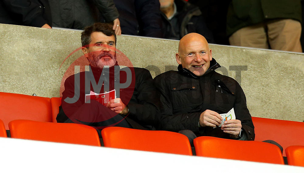 Republic of Ireland Assistant Manager Roy Keane takes a seat at Sunderland - Mandatory by-line: Robbie Stephenson/JMP - 28/10/2017 - FOOTBALL - Stadium of Light - Sunderland, England - Sunderland v Bristol City - Sky Bet Championship