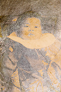 deteriorating portrait of baby Japan ca 1930s