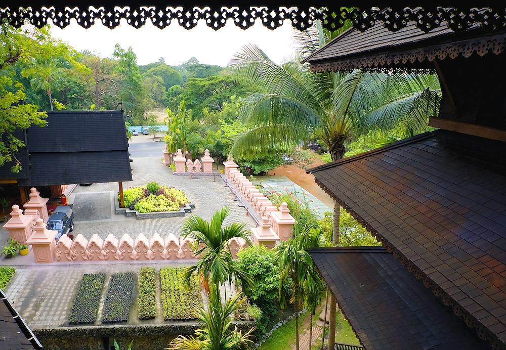 Kandawgyi Palace Hotel, Yangon, Myanmar.