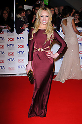 Jorgie Porter at the National Television Awards held in London on Wednesday, 25th January 2012. Photo by: i-Images