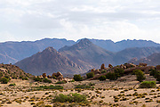 Tafraoute landscape, Anti Atlas Mountains, Souss Massa Draa, Anti Atlas Mountains, Souss Massa Draa region of Southern Morocco