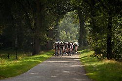 Sun shone briefly in the opening kilometres at Boels Rental Ladies Tour Stage 2 a 132.8 km road race from Eibergen to Arnhem, Netherlands on August 30, 2017. (Photo by Sean Robinson/Velofocus)