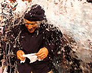 CHATTANOOGA, TN - DECEMBER 18:  Head coach Andy Talley of the Villanova Wildcats gets a Gatorade shower during the game against the Montana Grizzlies during the game at Finley Stadium on December 18, 2009 in Chattanooga, Tennessee.  The Wildcats beat the Grizzlies 23-21.  (Photo by Mike Zarrilli/Getty Images)