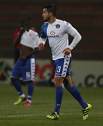 Keegan Ritchie of SuperSport United during the 2016 Premier Soccer League match between Supersport United and The Free Stat Stars held at the King Zwelithini Stadium in Durban, South Africa on the 24th September 2016<br /> <br /> Photo by:   Steve Haag / Real Time Images