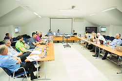 Meeting of Executive Committee of Ski Association of Slovenia (SZS) on June 16, 2015 in Ljubljana, Slovenia. Photo by Vid Ponikvar / Sportida