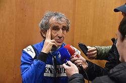 March 11, 2018 - Le Castellet, France - Alain Prost (Credit Image: © Panoramic via ZUMA Press)