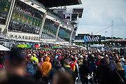 June 14-19, 2016: 24 hours of Le Mans. Fans at the 24 hours of Le Mans