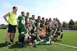 Team photo with the trophy - Mandatory by-line: Dougie Allward/JMP - 08/05/2016 - FOOTBALL - Keynsham FC - Bristol, England - BAWA Sports v SWYD United - Presidents cup final