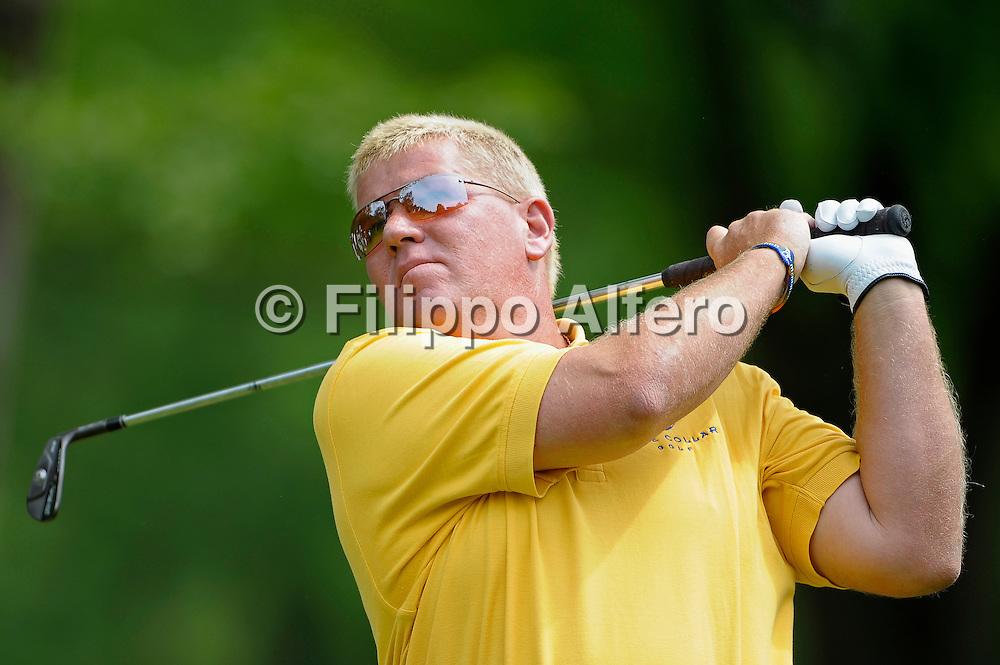 &copy; Filippo Alfero<br /> Torino, 10/05/2009<br /> sport , golf<br /> Golf Italian Open 2009<br /> Nella foto: John Daly (USA), secondo classificato<br /> <br /> &copy; Filippo Alfero<br /> Turin, Italy, 10/05/2009<br /> sport , golf<br /> Golf Italian Open 2009<br /> In the photo: John Daly (USA), second classified