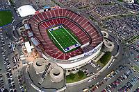 Aerial photograph of the New York Football Giants Stadium