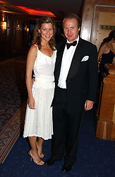 JOE BAMFORD and ALEX GORE BROWNE at the Boodles Boxing Ball in aid of the sports charity Sparks  organised by Jez lawson, James Amos and Charlie Gilkes held at The Royal Lancaster Hotel, Lancaster Terrace London W2 on 3rd June 2006.<br /> <br /> NON EXCLUSIVE - WORLD RIGHTS