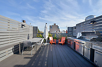 Roof Deck at 352 Graham Avenue