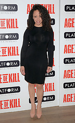 Cat Simmons attends Age of Kill VIP Screening at the Ham Yard Hotel, Soho, London on Wednesday 1 April 2015