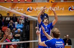 02-10-2016 NED: Supercup Abiant Lycurgus - Coniche Topvolleybal Zwolle, Doetinchem<br /> Lycurgus wint de Supercup door Zwolle met 3-0 te verslaan / Sam Gortzak #1 of Lycurgus
