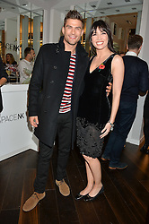 ALJAZ SKORJANEC and DAISY LOWE at the launch of the Space NK Global Flagship store at 285-287 Regent Street, London on 10th November 2016.