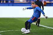 Sheffield Wednesday goalkeeper Cameron Dawson (25) during the warm up ahead of the EFL Sky Bet Championship match between Sheffield Wednesday and Blackburn Rovers at Hillsborough, Sheffield, England on 18 January 2020.
