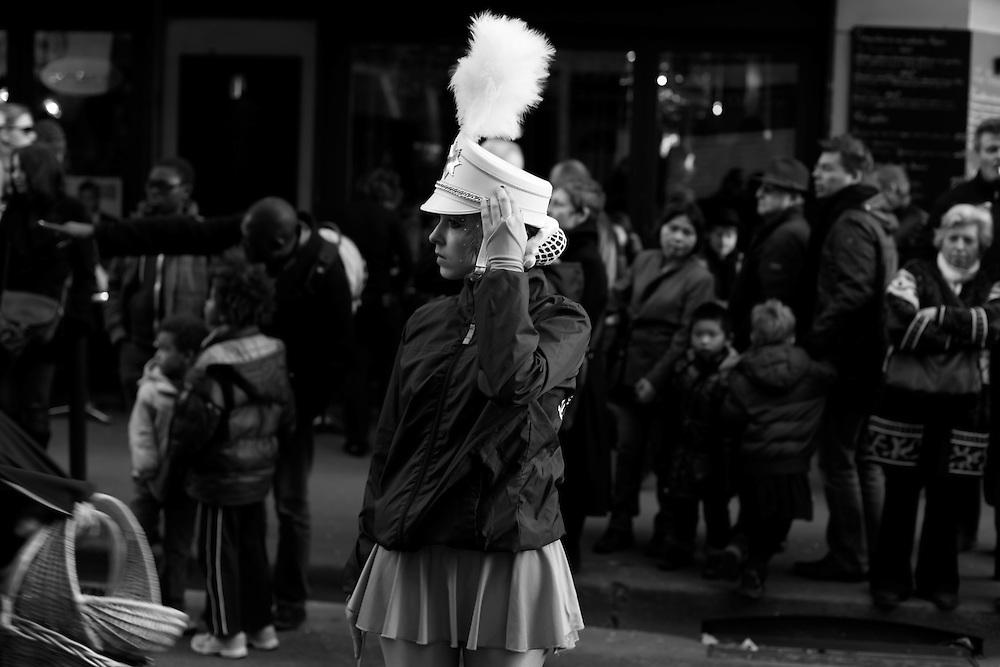 Band girl, Paris