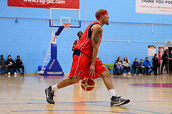 Greg Streete of Bristol Flyers - Photo mandatory by-line: Dougie Allward/JMP - 01/04/2017 - BASKETBALL - SGS Wise Arena - Bristol, England - Bristol Flyers v Leeds Force - British Basketball League