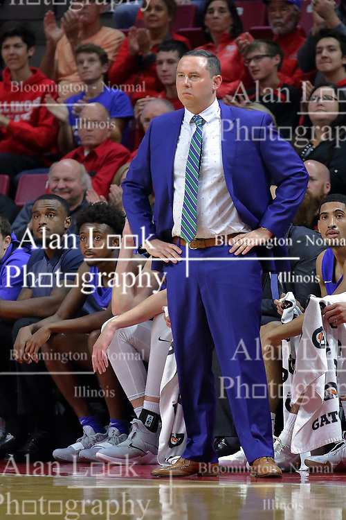 NORMAL, IL - November 06:  Michael Fly during a college basketball game between the ISU Redbirds  and the Florida Gulf Coast Eagles on November 06 2018 at Redbird Arena in Normal, IL. (Photo by Alan Look)