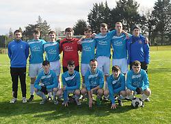 SUMMERHILL College team Connacht U19 FAI Schools finalists.<br />Pic Conor McKeown