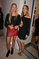 Left to right, Ella Murray and Laura Murray at the Tatler's English Roses 2017 party in association with Michael Kors held at the Saatchi Gallery, London England. 29 June 2017.<br /> Photo by Dominic O'Neill/SilverHub 0203 174 1069 sales@silverhubmedia.com