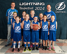 Lightning Basketball Team & Individual, January 2014