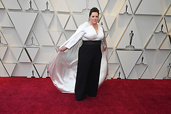 February 24, 2019 - Los Angeles, California, U.S - MELISSA MCCARTHY during red carpet arrivals for the 91st Academy Awards, presented by the Academy of Motion Picture Arts and Sciences (AMPAS), at the Dolby Theatre in Hollywood. (Credit Image: © Kevin Sullivan via ZUMA Wire)