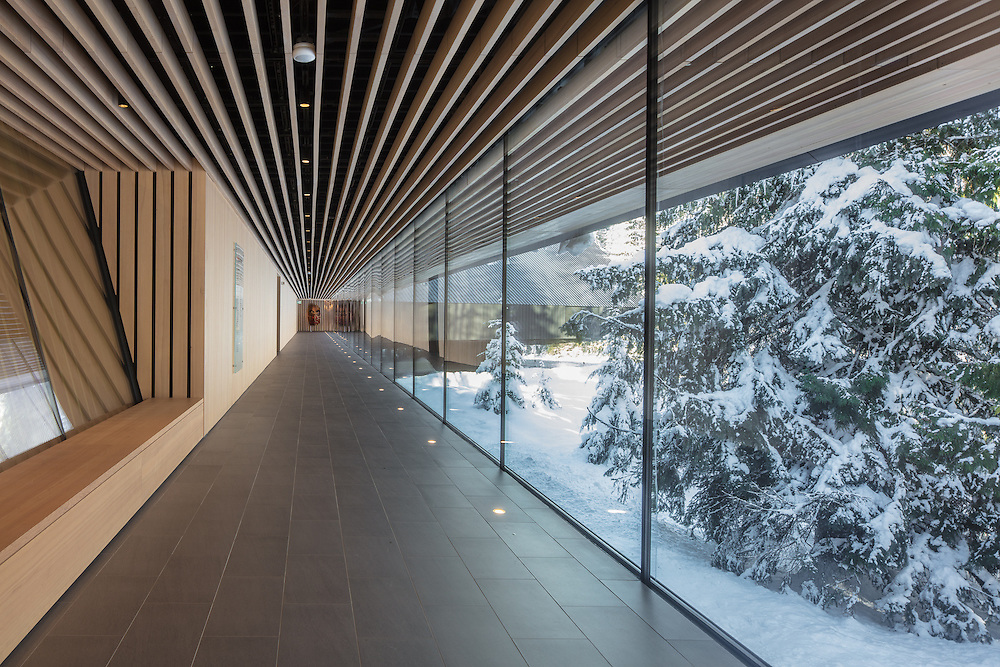 Audain Museum of Art, Whistler, British Columbia | Winter | Patkau Architects | 2017