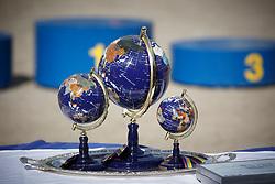 FEI World Breeding Jumping Championship Trophy <br /> FEI World Breeding Jumping Championship <br /> Lanaken - Zangersheide 2015<br /> © Hippo Foto - Dirk Caremans<br /> 20/09/15