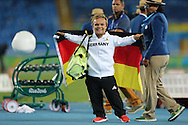 Niko Kappel of Germany wins Gold in the men's F41 Shot Put on Day One of the Rio Paralympics  in Rio de Janeiro, Brazil<br /> Picture by EXPA Pictures/Focus Images Ltd 07814482222<br /> 08/09/2016<br /> *** UK & IRELAND ONLY ***<br /> <br /> EXPA-EIB-160909-0037.jpg