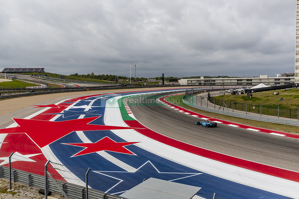 March 23, 2019 - Austin, Texas, U.S. - MAX CHILTON (59) of England goes through the turns during practice for the INDYCAR Classic at Circuit Of The Americas in Austin, Texas. (Credit Image: © Walter G Arce Sr Asp Inc/ASP)