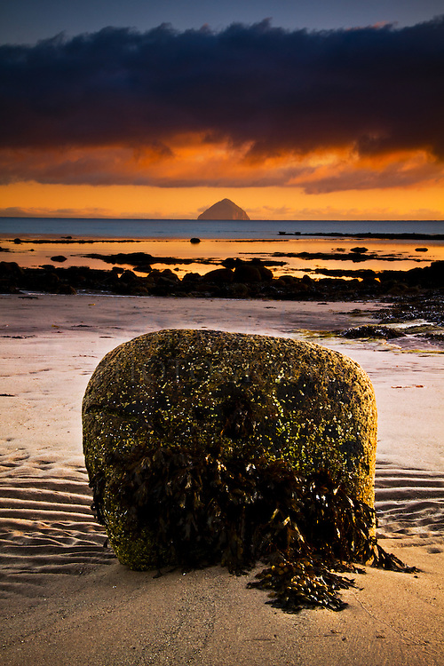 Kildonan bay and Ailsa Craig, Arran