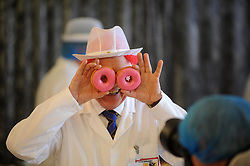 Scottish Bakery Awards_Dunfermline Blcc_17-04-2019<br /> <br /> Doughnut testing<br /> <br /> (c) David Wardle | Edinburgh Elite media