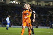 Ipswich Town striker Freddie Sears (20) during the Sky Bet Championship match between Brighton and Hove Albion and Ipswich Town at the American Express Community Stadium, Brighton and Hove, England on 29 December 2015. Photo by Phil Duncan.