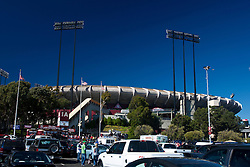 October 10, 2010; San Francisco, CA, USA;  General view of the exterior of Candlestick Park before the game between the San Francisco 49ers and the Philadelphia Eagles.