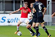 Thomas Ouwejan of AZ Alkmaar, James Horsfield of NAC Breda