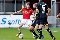 Thomas Ouwejan of AZ Alkmaar, James Horsfield of NAC Breda