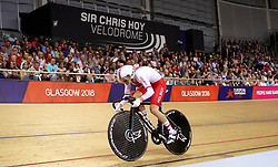 Poland's Urszula Los competes in the Women's 500m Time Trial Final during day five of the 2018 European Championships at the Sir Chris Hoy Velodrome, Glasgow.
