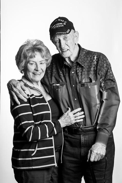 Floyd R. Thomas<br /> Army<br /> E-4<br /> Infantry, Medic, Airborne<br /> Sept. 12, 1944 - Nov. 27, 1946<br /> WWII, Battle of Okinawa, Occupation of Japan<br /> <br /> Veterans Portrait Project<br /> Colorado Springs, CO