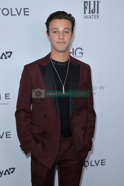 September 5, 2019, New York, NY, USA: September 5, 2019  New York City..Cameron Dallas attending The Daily Front Row Fashion Media Awards arrivals on September 5, 2019 in New York City. (Credit Image: © Kristin Callahan/Ace Pictures via ZUMA Press)