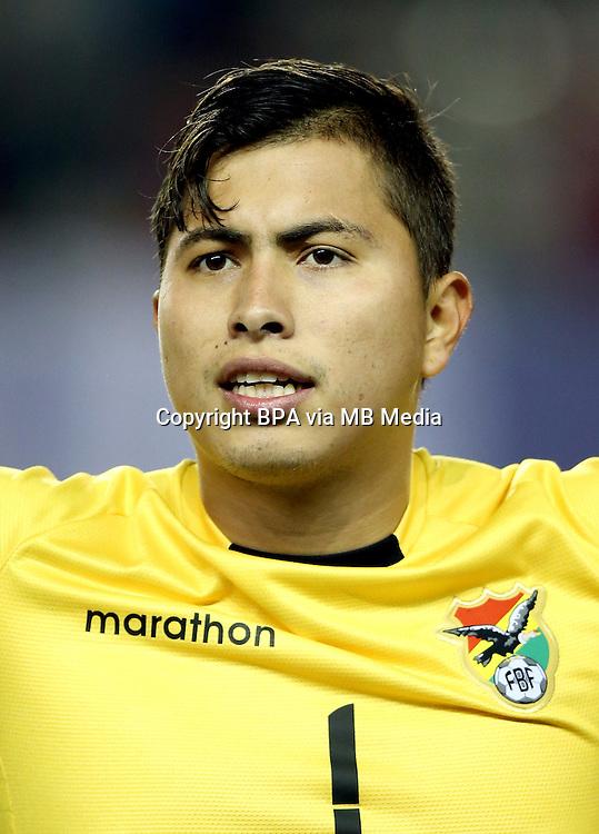 Conmebol_Concacaf - Copa America Centenario 2016 - <br /> Bolivia National Team - <br /> Romel Quinonez
