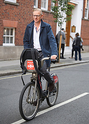 © Licensed to London News Pictures. 23/05/2019. London, UK. BEN LEADSOM, husband of ANDREA LEADSOM MP seen is seen leaving their London home, the morning after Andrea Leadsom resigned from Government. Today UK citizens will controversially go to the polls in the European elections, three years after a majority voted to leave the EU. Photo credit: Ben Cawthra/LNP