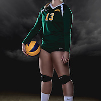 UNIVERSITY OF REGINA 2014-15: Played in all 24 Canada West matches in her first season of CIS eligibility ... appeared in 69 of the team's 91 sets during the conference schedule, mostly as a defensive specialist late in sets ... accumulated 58 digs, nine service aces, and four assists.<br /> - via: reginacougars.com