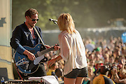 The Airborne Toxic Event performing at the Firefly Music Festival in Dover, DE on June 20, 2014.