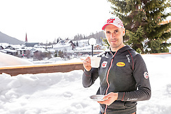 20.02.2019, Seefeld, AUT, FIS Weltmeisterschaften Ski Nordisch, Seefeld 2019, Nordische Kombination Reportage, im Bild Cheftrainer Christoph Eugen (AUT) // Headcoach Christoph Eugen of Austria during a Photoseries of Austrian Nordic Combined Team for the FIS Nordic Ski World Championships 2019. Seefeld, Austria on 2019/02/20. EXPA Pictures © 2019, PhotoCredit: EXPA/ JFK