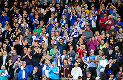 Bristol Rovers' fans  - Photo mandatory by-line: Dougie Allward/JMP - Tel: Mobile: 07966 386802 07/09/2013 - SPORT - FOOTBALL -  Home Park - Plymouth - Plymouth Argyle V Bristol Rovers - Sky Bet League Two
