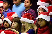 The Sagamore Hills Elementary School winter concert is performed in Atlanta on Monday, Dec. 9, 2013.  (David Tulis/dtulis@gmail.com)