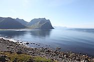 Unstad, Lofoten archipelago, Norway, Lapland
